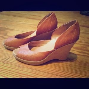 Kork-Ease leather heels